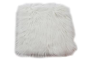 Dyna Stol Fluff Acryl Vit 35x35 cm