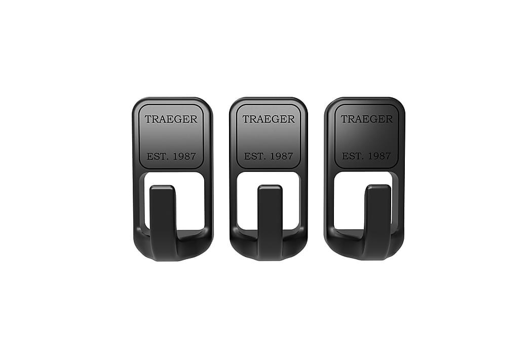 Träkrokar Magnetisk 3-pack - Traeger - Trädgård - Grillar - Grilltillbehör