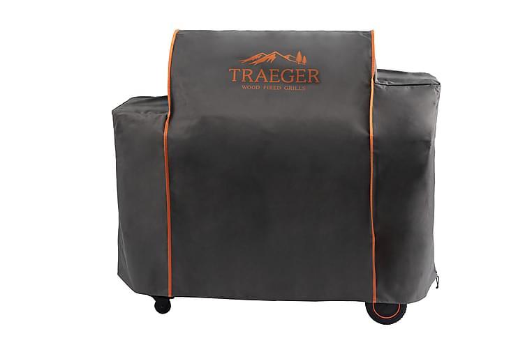 Grillöverdrag till Timberline 1300 Grå/Orange - Traeger - Trädgård - Grillar - Skyddshuvar