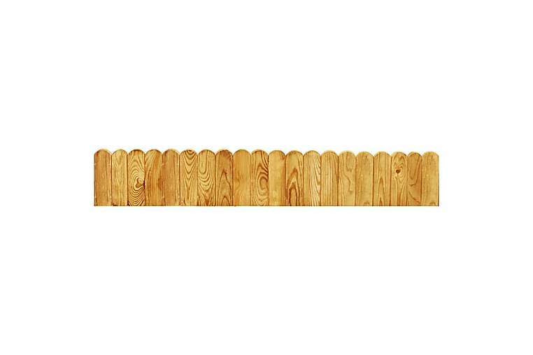 Rabattkant brun 120 cm impregnerad furu - Brun - Belysning - Inomhusbelysning & Lampor - Taklampa