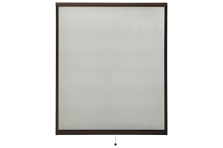 Insektsnät för fönster brun 160x170 cm - Brun - Trädgård - Trädgårdsdekoration & utemiljö - Myggnät