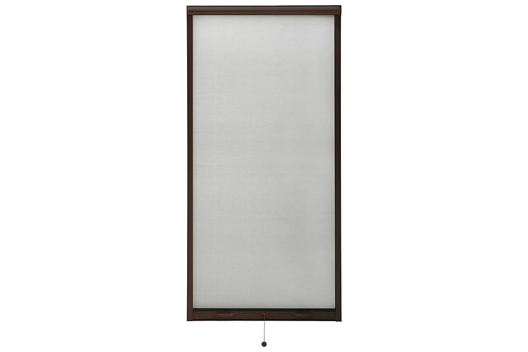 Insektsnät för fönster brun 80x170 cm - Brun - Trädgård - Trädgårdsdekoration & utemiljö - Myggnät