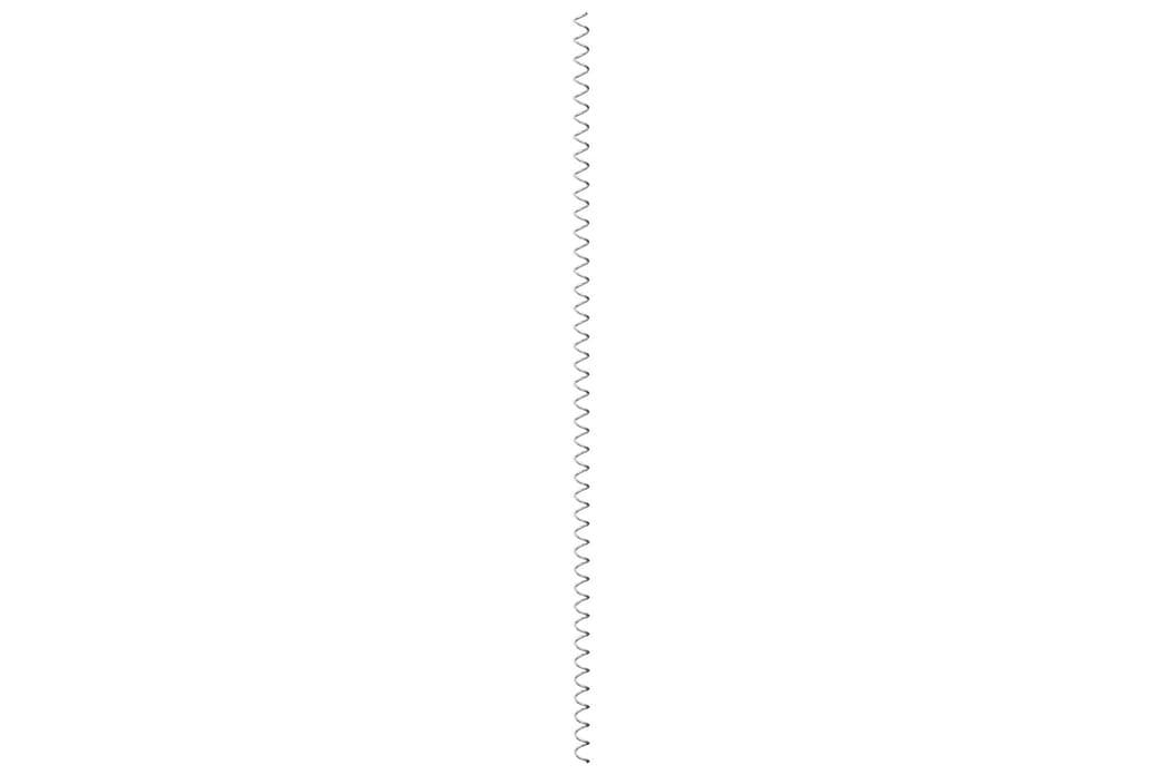 Spiraler till gabion 24 st galvaniserat stål 100 cm - Silver - Trädgård - Trädgårdsdekoration & utemiljö - Staket & grindar