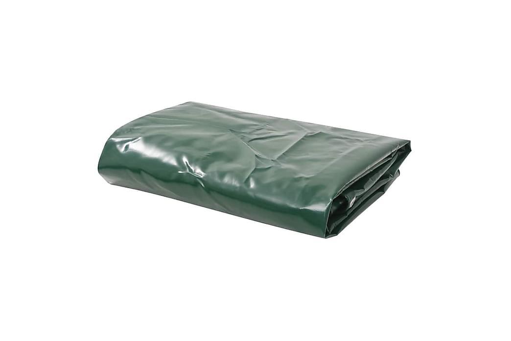Presenning 650 g/m² 3x3 m grön - Grön - Trädgård - Utomhusförvaring - Presenning