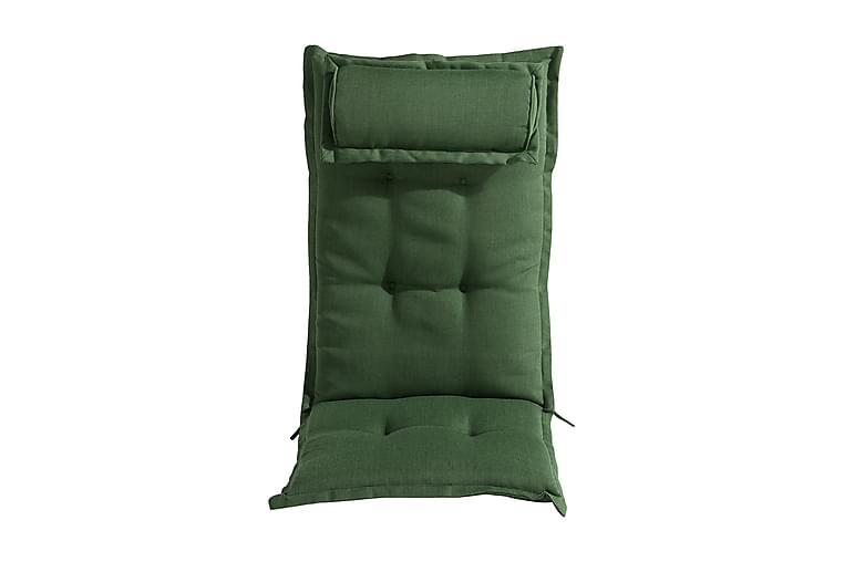 Dyna till Positionsstol med Nackkudde - Grön - Utemöbler - Dynor - Positionsdynor