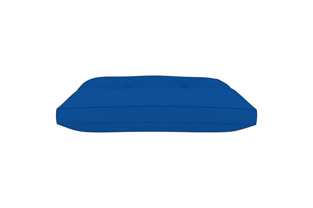Dyna till pallottoman kungsblå tyg - Blå - Utemöbler - Dynor - Soffdynor & bänkdynor