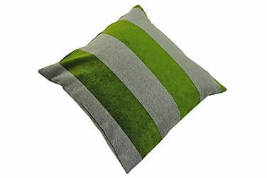 Kuddfodral 45 x 45 cm:Softrandgrön