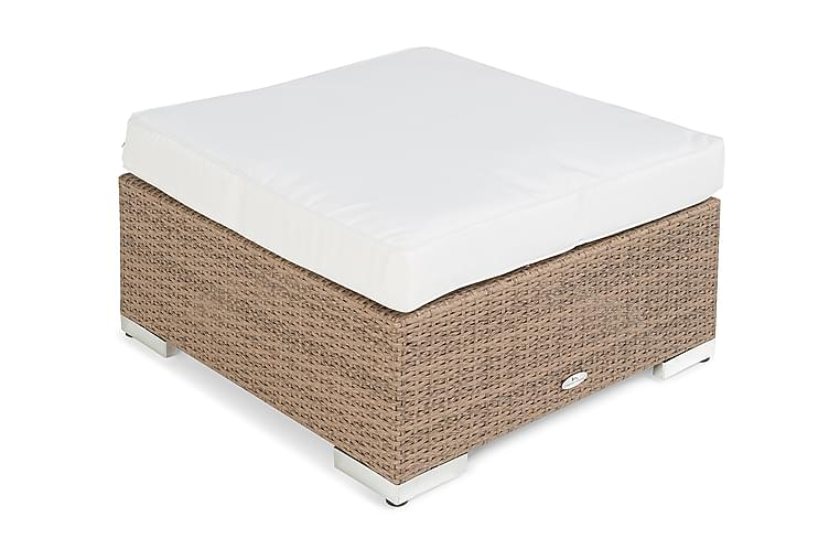 Divan/Bord Bahamas 75x75 cm - Sand - Utemöbler - Loungemöbler - Moduler
