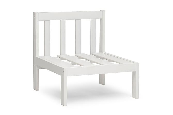 Mittdel Läckö Vit - Vit - Utemöbler - Loungemöbler - Moduler