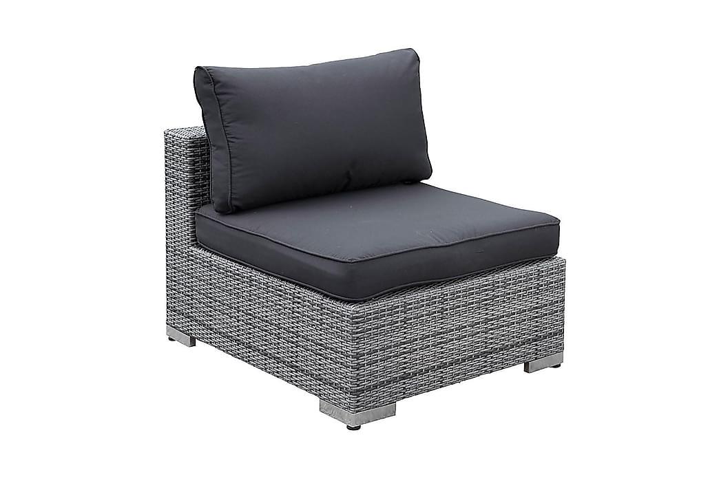Mittmodul Bahamas - Grå - Utemöbler - Loungemöbler - Moduler