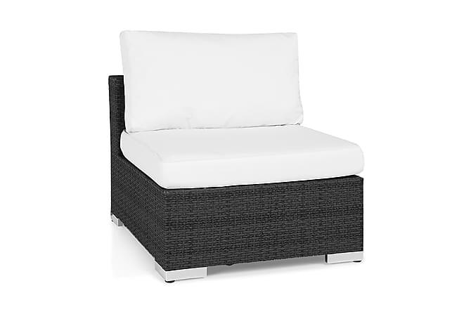 Mittmodul Bahamas - Svart - Utemöbler - Loungemöbler - Moduler