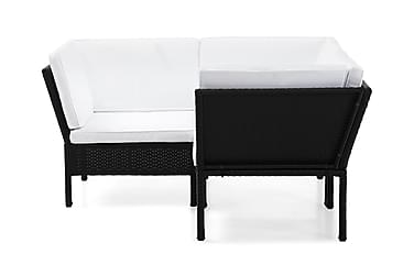 Santorini Loungesoffa 3-sits