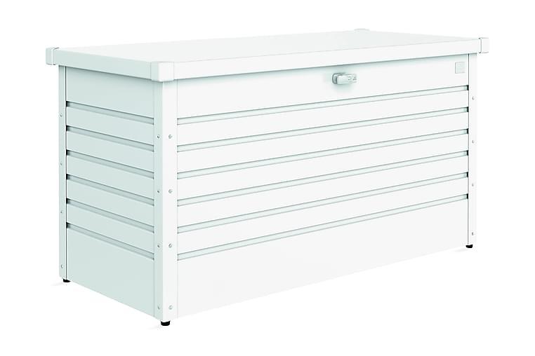 Dynbox 130 Vit - Biohort - Utemöbler - Dynboxar & möbelskydd - Dynboxar & dynlådor