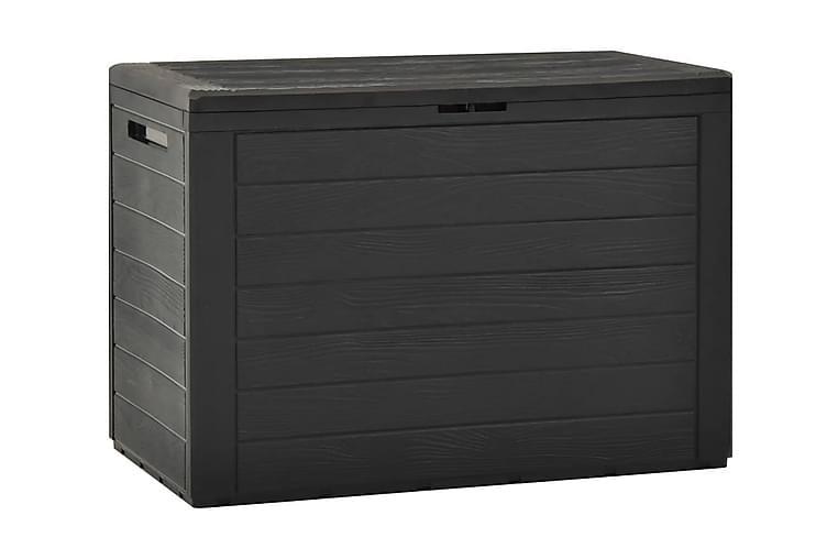 Dynbox antracit 78x44x55 cm - Antracit - Utemöbler - Dynboxar & möbelskydd - Dynboxar & dynlådor