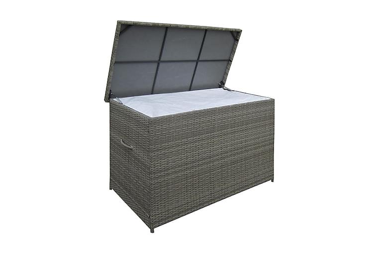 Dynbox Aranos 150x90x100.5 - Grå - Utemöbler - Dynboxar & möbelskydd - Dynboxar & dynlådor