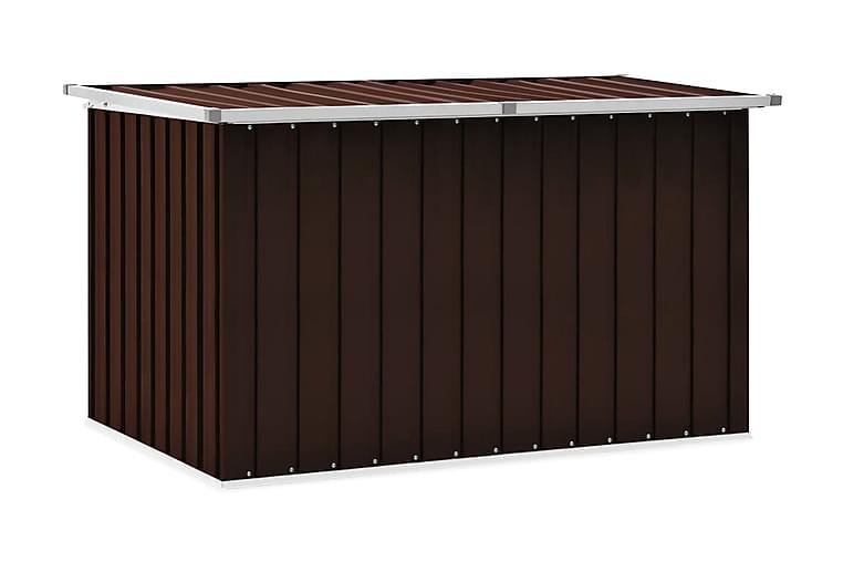 Dynbox brun 149x99x93 cm - Brun - Utemöbler - Dynboxar & möbelskydd - Dynboxar & dynlådor