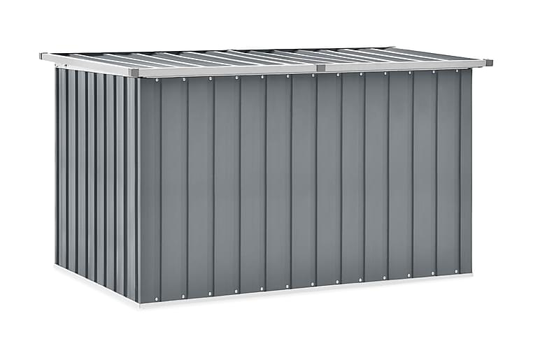 Dynbox grå 149x99x93 cm - Grå - Utemöbler - Dynboxar & möbelskydd - Dynboxar & dynlådor
