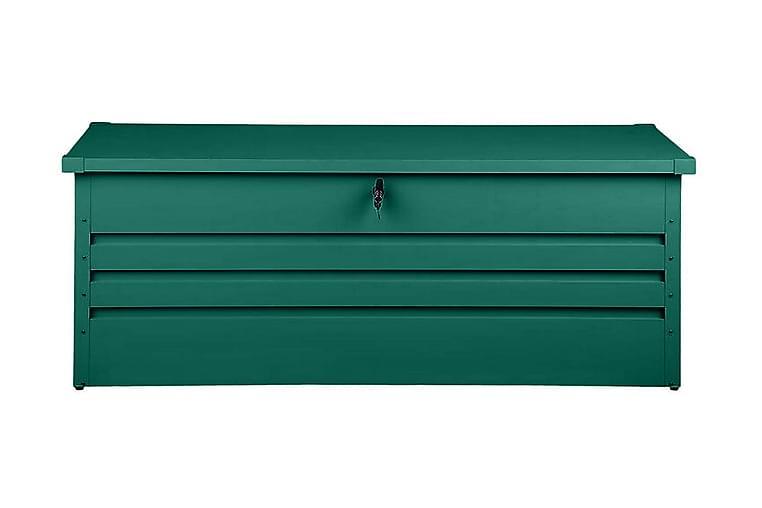 Dynlåda Cebrosa 165 cm - Grön - Utemöbler - Dynboxar & möbelskydd - Dynboxar & dynlådor