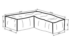 Icke gamla Möbelskydd & skydd för utemöbler - Chilli LU-02