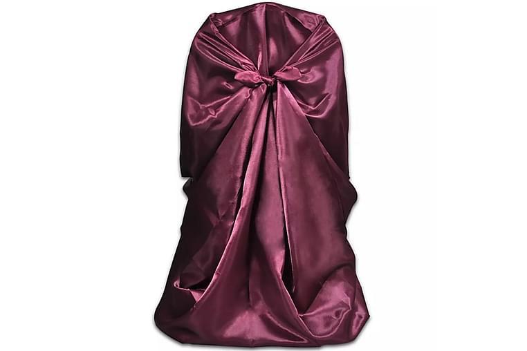 Stolsklädsel till bröllopsmiddag 6 st Burgundy - Röd - Utemöbler - Dynboxar & möbelskydd - Möbelskydd