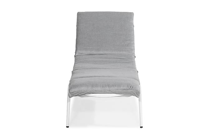 Solsäng Cannes Inkl Dyna - Vit - Utemöbler - Välj efter material - Aluminium & stål