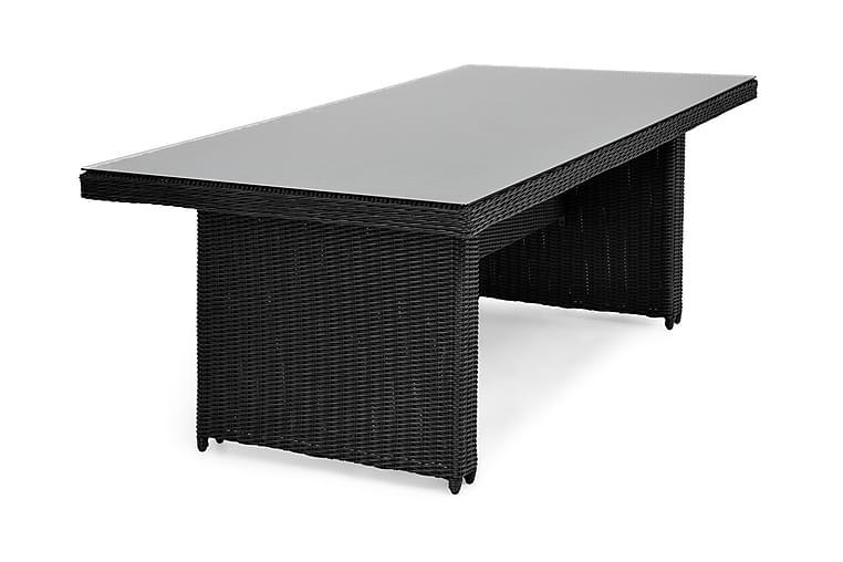 Matbord Marcus 200x100 cm - Svart - Utemöbler - Utebord - Matbord