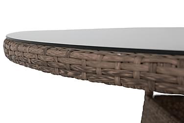 Matbord Thor 140 cm Runt