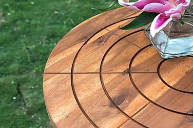 Cafégrupp Askö 60 cm + 2 Klappstol