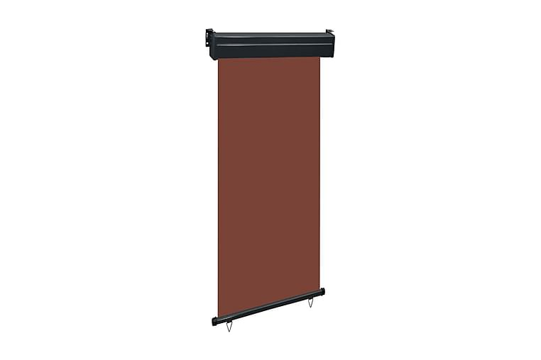 Balkongmarkis 100x250 cm brun - Brun - Utemöbler - Solskydd - Markiser