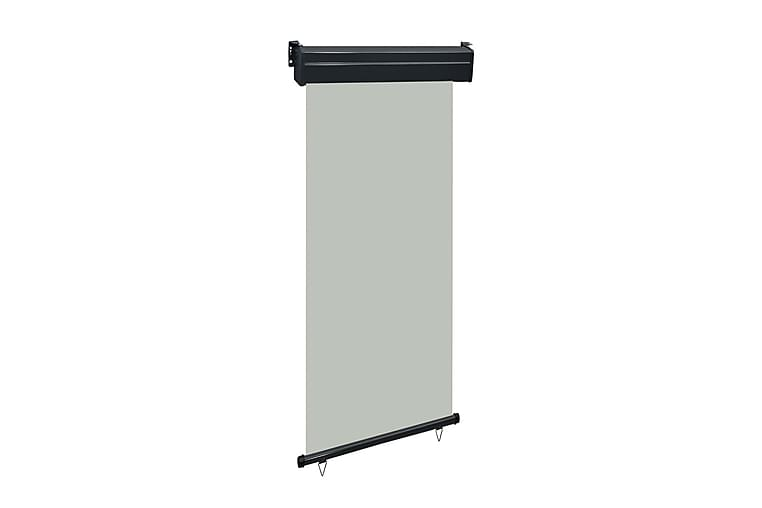 Balkongmarkis 100x250 cm grå - Grå - Utemöbler - Solskydd - Markiser