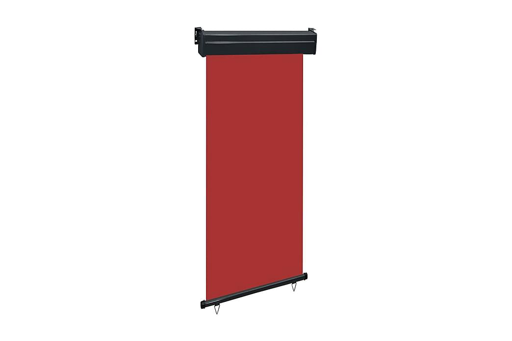Balkongmarkis 100x250 cm röd - Röd - Utemöbler - Solskydd - Markiser
