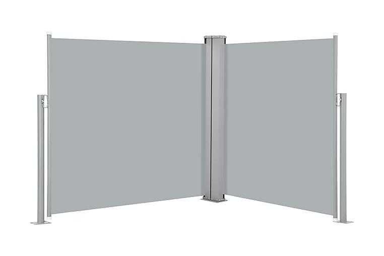 Infällbar sidomarkis antracit 120x600 cm - Antracit - Utemöbler - Solskydd - Markiser