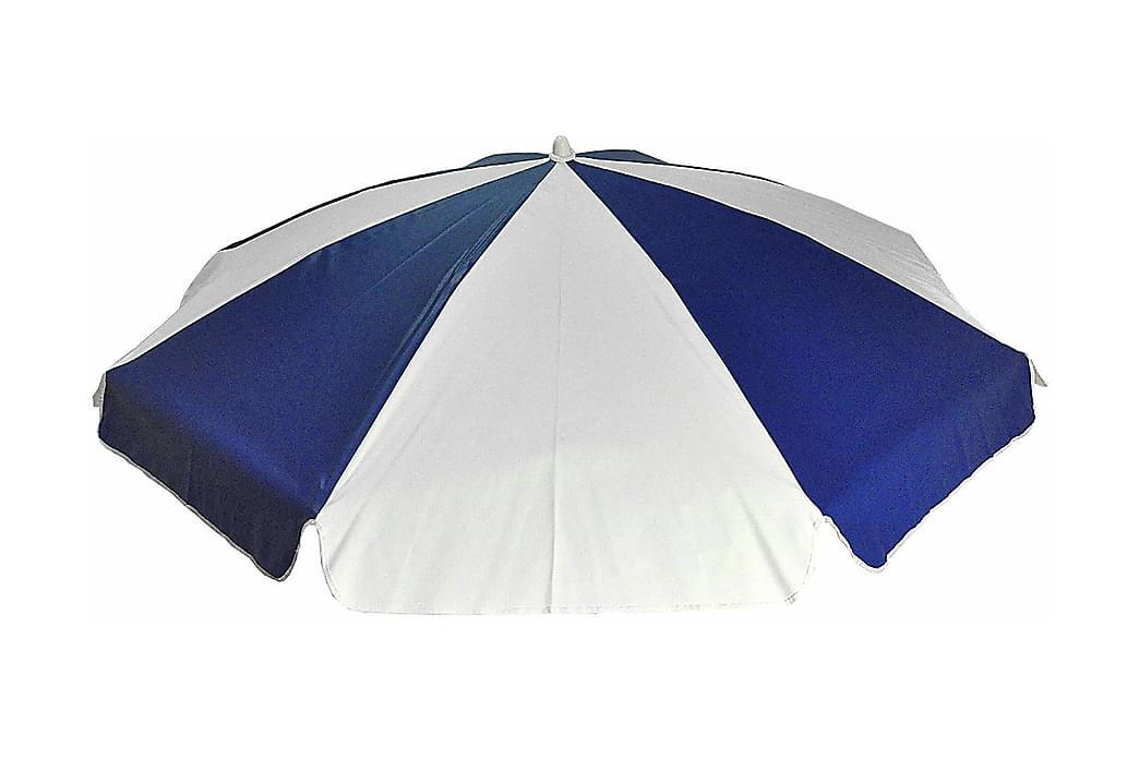 Parasoll 180 cm Blåvit - Fritab - Utemöbler - Solskydd - Parasoller