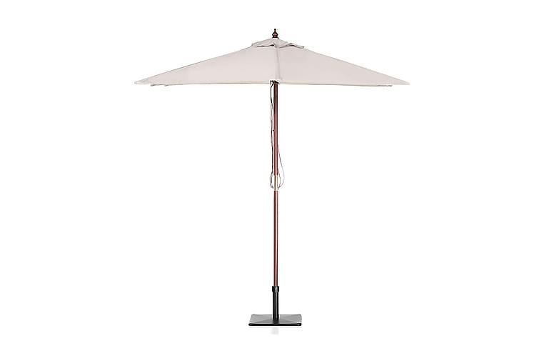Parasoll Flamenco 244 cm - Beige - Utemöbler - Solskydd - Parasoller