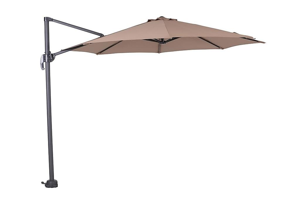 Parasoll Hawaii 300 cm Svart/Taupe - Garden Impressions - Utemöbler - Solskydd - Parasoller