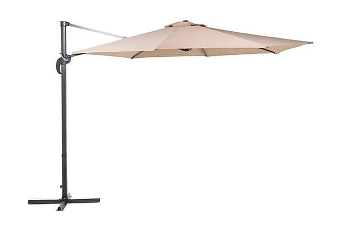 Parasoll Savona 240 cm - Beige - Utemöbler - Solskydd - Parasoller