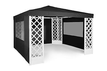 Paviljongstomme De Luxe Vitlaserad