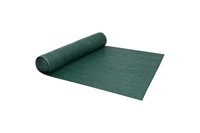 Insynsskyddsnät grön 1x50 m HDPE 150 g/m² - Grön - Utemöbler - Solskydd - Insynsskydd & vindskydd