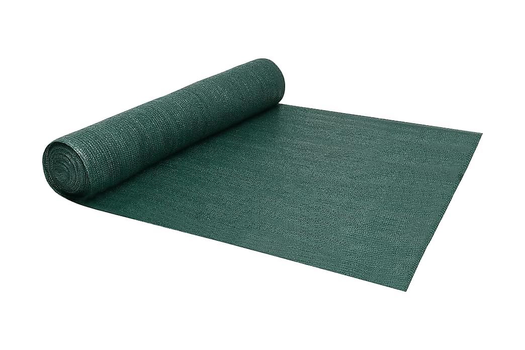 Insynsskyddsnät grön 2x25 m HDPE 150 g/m² - Grön - Utemöbler - Solskydd - Skärmskydd & vindskydd