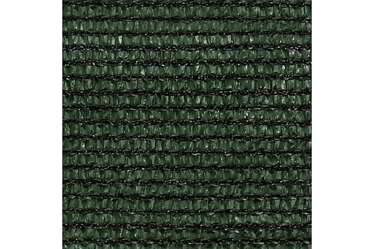 Solsegel 160 g/m² mörkgrön 3/4x2 m HDPE - Grön - Utemöbler - Solskydd - Solsegel