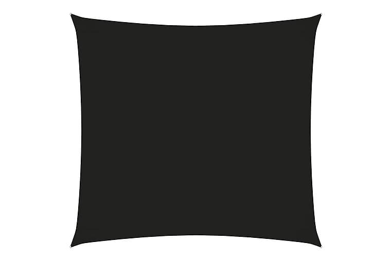 Solsegel oxfordtyg fyrkantigt 2x2 m svart - Svart - Utemöbler - Solskydd - Solsegel