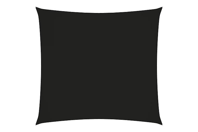 Solsegel oxfordtyg fyrkantigt 7x7 m svart - Svart - Utemöbler - Solskydd - Solsegel