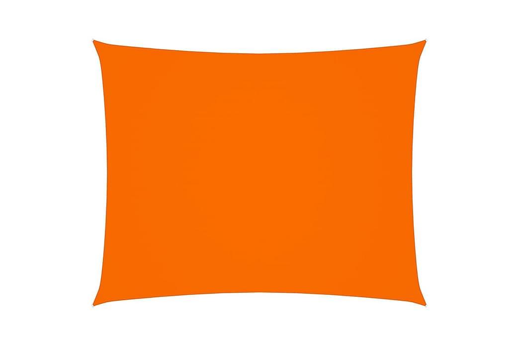 Solsegel oxfordtyg rektangulärt 2,5x3,5 m orange - Orange - Utemöbler - Solskydd - Solsegel