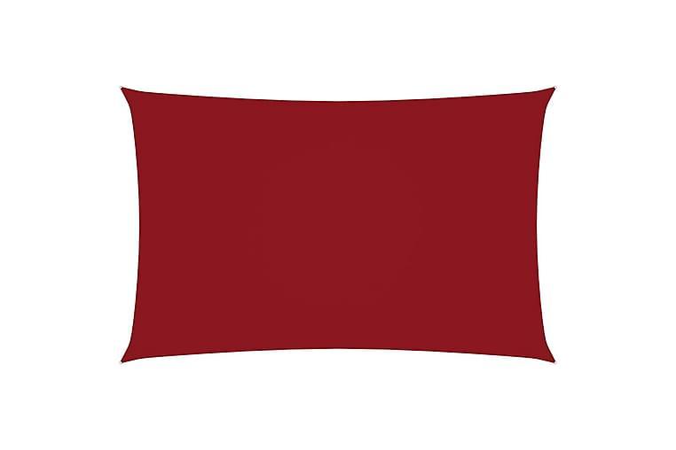 Solsegel oxfordtyg rektangulärt 5x8 m röd - Röd - Utemöbler - Solskydd - Solsegel