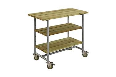 Urban grillbord med 2 hyllor