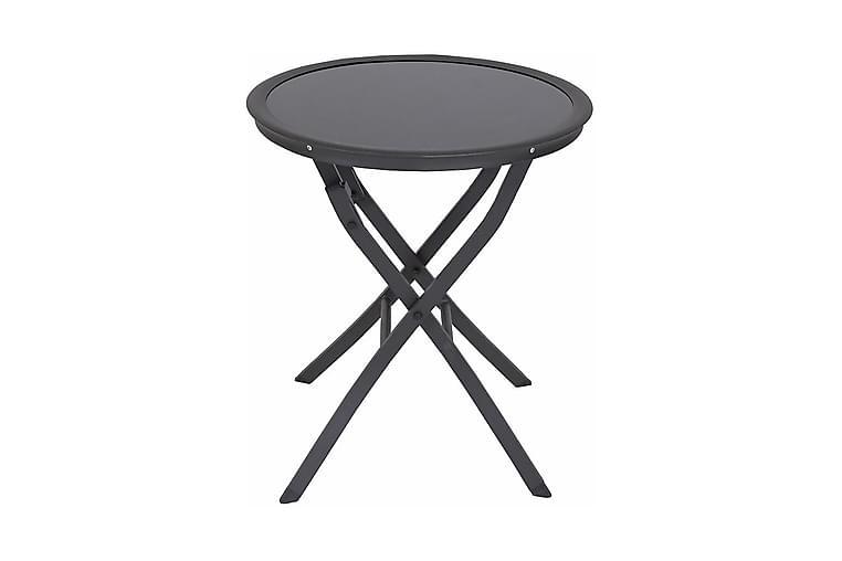 Utebord Messina - Mörkgrå/Glas - Utemöbler - Utebord - Loungebord