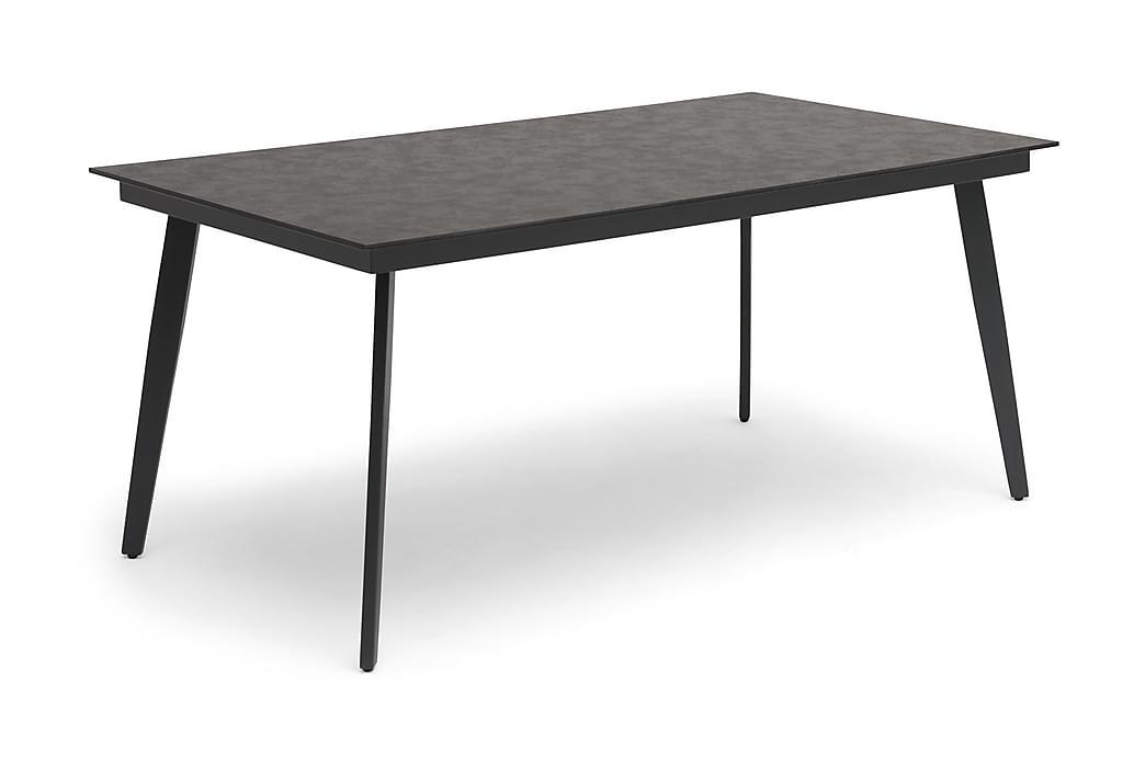 Hillerstorp Hunneslätt Bord 90X150 Cm - Svart|Grå - Utemöbler - Utebord - Matbord