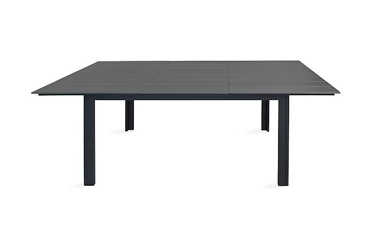 Matbord Levels Förlängningsbart 224 cm - Svart/Grå - Utemöbler - Utebord - Matbord