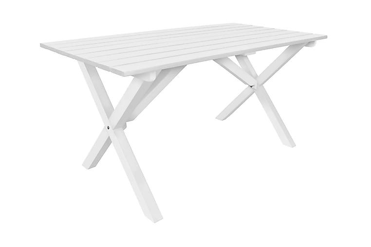 Matbord Scottsdale 150 cm Vit - Utemöbler - Utebord - Matbord