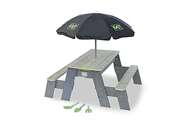 EXIT Aksent Sand-, Water Picnic table (2 Seats) + Sunshade +